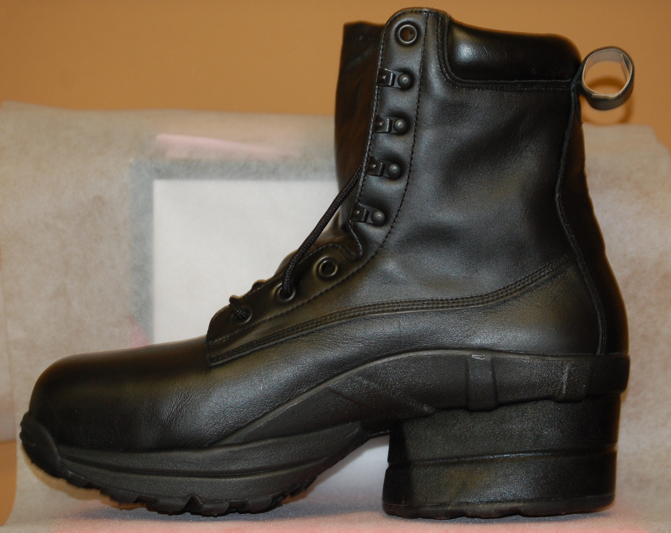 coil toe prime boot shoes fw leather composite footwear relief pain