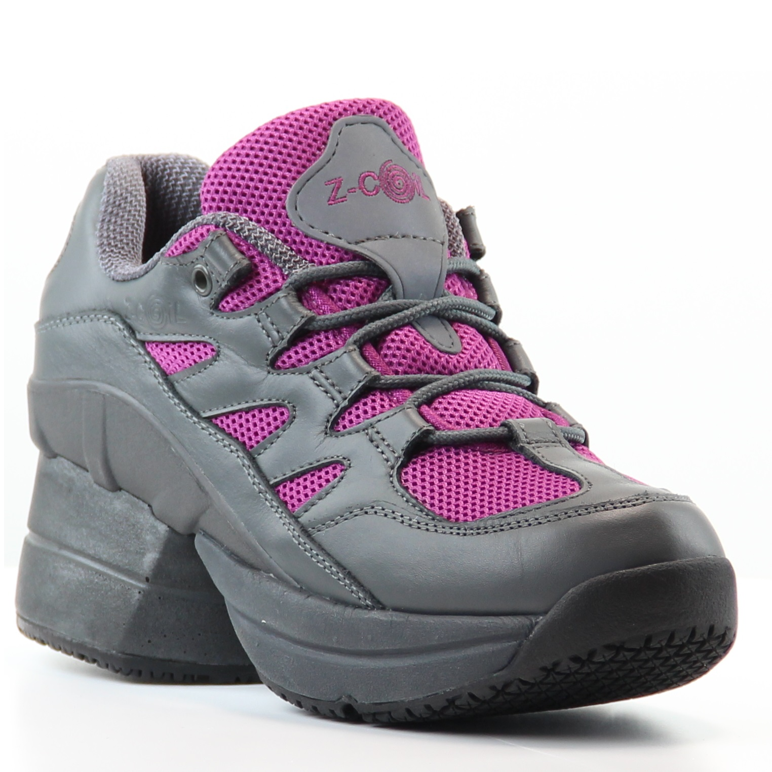 z-coil freedom s/r fw-k1008 gray and fuchsia with enclosed coils